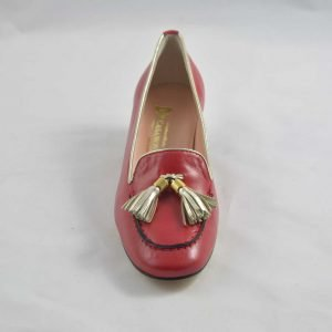 Scarpe Casanova décolleté rossa