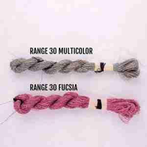 Filati color range 30 multicolor, range 30 fucsia
