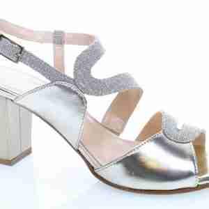 sandalo argento soffice